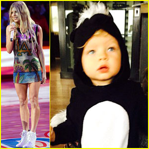 Fergie Shares Adorable Picture of Son Axl on Halloween