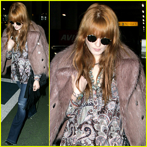 Florence Welch Arrives Back Home in the UK After Spending Time in L.A.