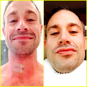 Freddie Prinze Jr. Had Spine Surgery & Is Now in a Neck Brace