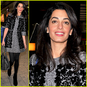 George & Amal Clooney Still Look 'Very Much in Love'!