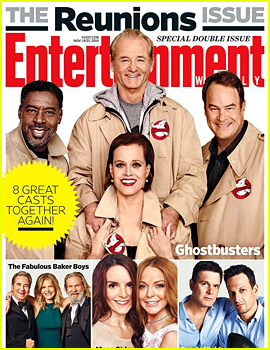 'Ghostbusters,' 'Mean Girls,' & More Casts Reunited for EW's Latest Issue!