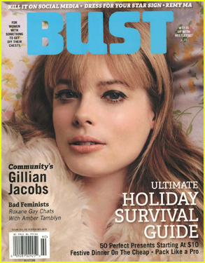 Gillian Jacobs Talks About Being a Feminist in 'Bust' Magazine