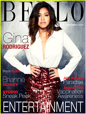 Gina Rodriguez Brings Sexy to 'Bello' Mag December 2014 Cover