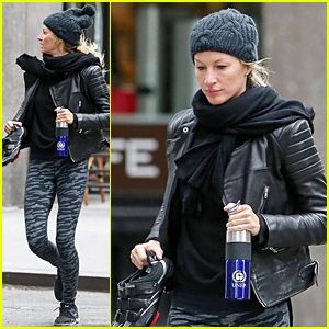 Gisele Bundchen Battles the NYC Cold With United Nations Environment Program