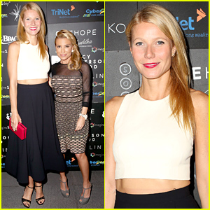 Gwyneth Paltrow's Latest Red Carpet Look Is All About Her Abs!