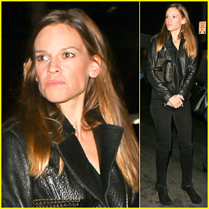 Hilary Swank Finds Time to Be Happy for the Things That Make Her Feel Alive