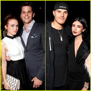 Holland Roden & Chris Zylka Bring Their Cute Dates to Just Jared's Homecoming Dance Presented By Ever After High