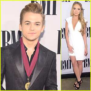 Hunter Hayes Gets Honored With Medallion at BMI Country Awards