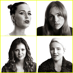 Katy Perry & Nina Dobrev Sing 'Imagine' With Tons of Stars For UNICEF Music Video - Watch Now!