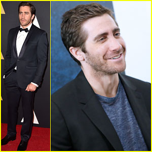 Jake Gyllenhaal Suits Up for Governors Awards 2014