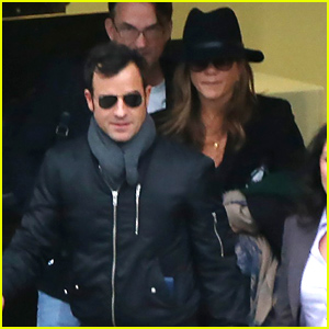 Jennifer Aniston Brings Justin Theroux to London For Her 'Horrible Bosses 2' Promo Work!