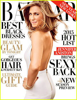 Jennifer Aniston Gushes About Justin Theroux, Says She Doesn't Hold Any Past Grudges in 'Harper's Bazaar' Cover Story