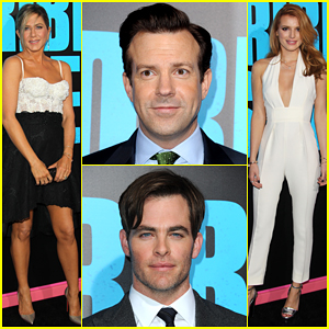 Jennifer Aniston & the 'Horrible Bosses 2' Guys Buddy Up for the Premiere