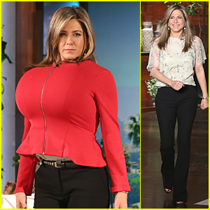 Find Out Who Jennifer Aniston is Imitating on 'The Ellen Show'!