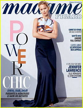 Jennifer Lawrence Stuns on 'Madame Figaro' Magazine Cover!