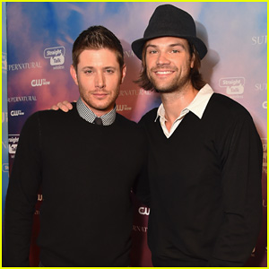 Jensen Ackles & Jared Padalecki Help Celebrate 'Supernatural's 200th Episode at CW's Fan Party!