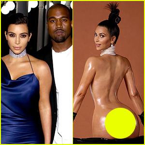 Are going kanye kim kardashian nude will