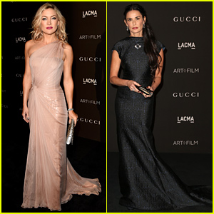 Kate Hudson & Demi Moore Are Classic Beauties at the LACMA Art + Film Gala