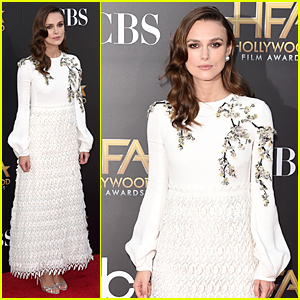 Keira Knightley is the Epitome of Glamorous at Hollywood Film Awards 2014