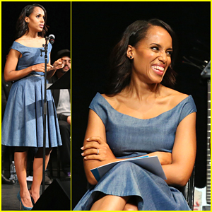 Kerry Washington Gets Happily Overwhelmed by Turnout for Voices of a People's History