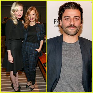 Kirsten Dunst Supports Jessica Chastain & Oscar Isaac at 'A Most Violent Year' Screening