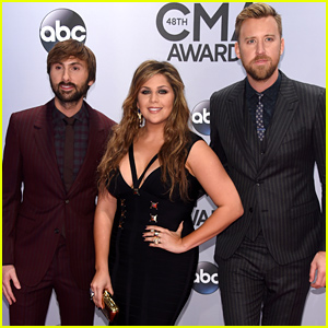 Lady Antebellum Hit the Red Carpet Ahead of the CMA Awards 2014!