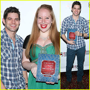 Last 5 Years' Jeremy Jordan Supports His Pal's Book Launch!