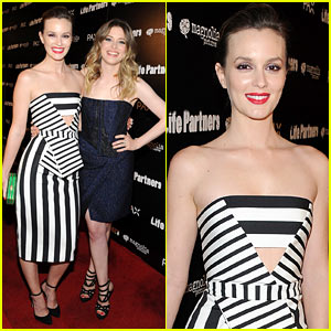 Leighton Meester & Gillian Jacobs Can't Contain Their Smiles at 'Life Partners' Premiere!