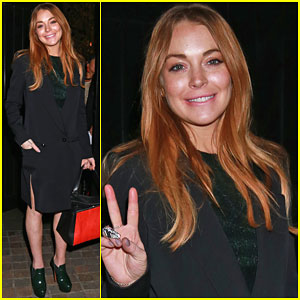 Lindsay Lohan is Feeling Peaceful After 'Speed the Plow' Closing