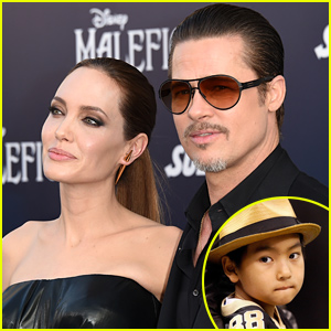 Angelina Jolie & Brad Pitt's Son is a Production Assistant On Their Film 'By the Sea'!