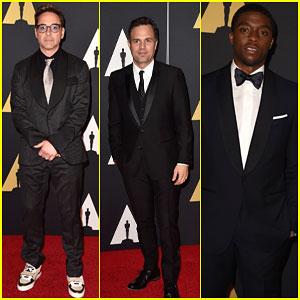 Robert Downey Jr. & Mark Ruffalo Make it a Marvel Night at the Governors Awards