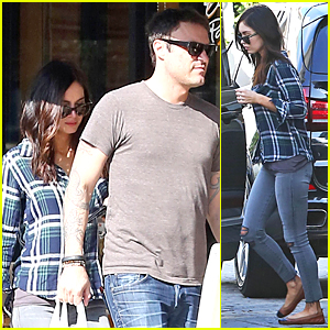 Megan Fox Takes 'Zeroville' Break & Grabs Lunch with Husband Brian Austin Green