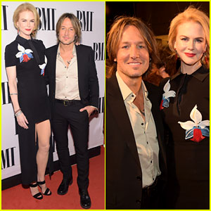 Nicole Kidman Shows Lots of Leg at BMI Country Awards 2014 with Keith Urban!
