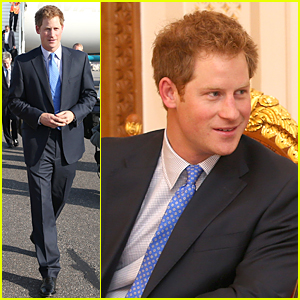 Prince Harry Looks Handsome For His First Day in Oman!