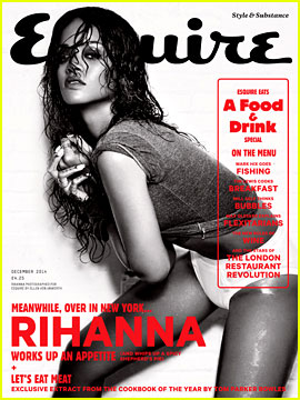 Rihanna Shows Tons of Skin for Her 'Esquire UK' Cover Spread