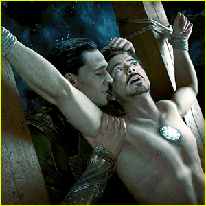 Robert Downey Jr. Found Iron Man/Loki Fan Fiction While Googling Himself!