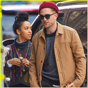 Robert Pattinson & FKA twigs Get In Some Quality Time in New York City
