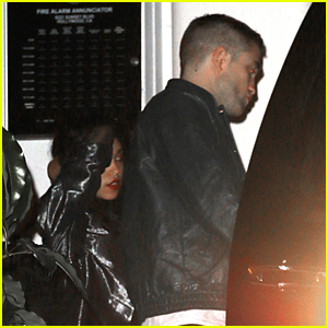 Robert Pattinson & FKA twigs Spend Time at Chateau Marmont After
