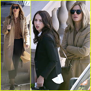Sandra Bullock & Zoe Kazan Continue Shooting 'Our Brand Is Crisis' in Puerto Rico