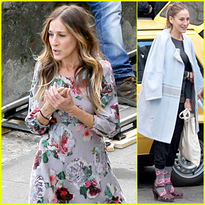 Sarah Jessica Parker Wears Three Outfits in One Day