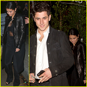 Selena Gomez Reunites with 'Wizards of Waverly Place' Co-Star David Henrie For Dinner Date!