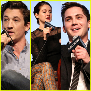 Shailene Woodley Addresses Ansel Elgort Romance Questions at Award-Season Contenders Event