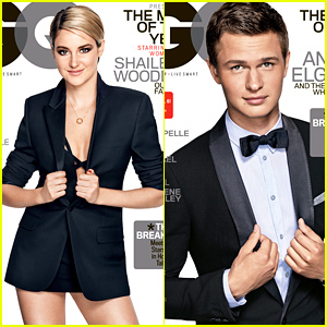 Shailene Woodley & Ansel Elgort Look So Good for GQ's Men of the Year Covers!