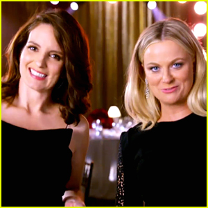 Tina Fey & Amy Poehler Reveal What They Will Be Wearing in First Golden Globes 2015 Promo - Watch Now!