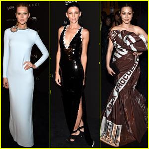 Toni Garrn Goes Gucci Glam at LACMA Art + Film Gala!