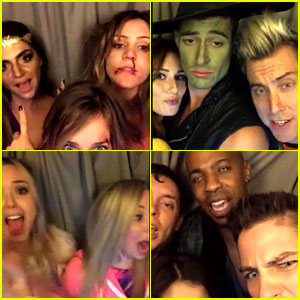Watch All the Keek Videos from Just Jared's Halloween Party!