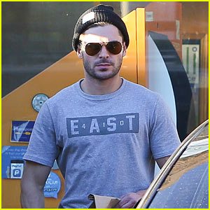 Zac Efron Adopts a Dog with Girlfriend Sami Miro!
