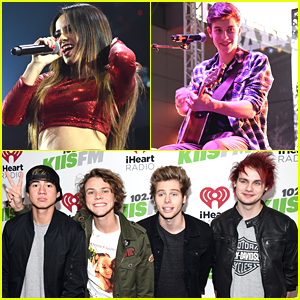 5 Seconds Of Summer & Becky G Heat Up KIIS FM's Jingle Ball - Pics & Video!