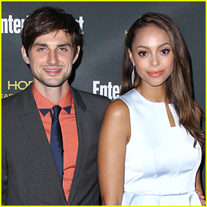 Former 'Greek' Co-Stars Andrew J. West & Amber Stevens Tie the Knot!