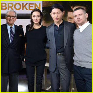 Angelina Jolie & Her 'Unbroken' Stars Discuss the Message of the Movie on 'Today' - Watch Now!